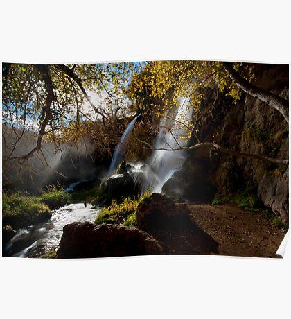 Riffle Falls, Colorado Poster
