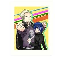 Kannao - Let's Fight Together Art Print