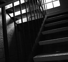 Shadowed Staircase by Brianna da Silva