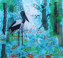 Jabiru Wetlands by Wendy Sinclair
