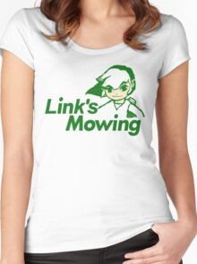 Link's Mowing Women's Fitted Scoop T-Shirt