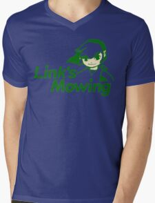 Link's Mowing Mens V-Neck T-Shirt
