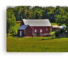 Farm In Virginia Canvas Print