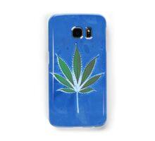 Hemp Lumen #8 Leaf Marijuana/Cannabis/Weed Samsung Galaxy Case/Skin