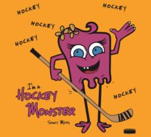 Hockey Monster Pink by SaucyMitts