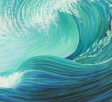 Stormy Wave Sticker