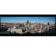 Manhattan Panorama 2003 Photographic Print