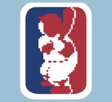 Nintendo RBI Baseball Major League MLB Logo by jackandcharlie