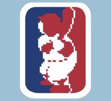 Nintendo RBI Baseball Major League MLB Logo by jackandcharlie