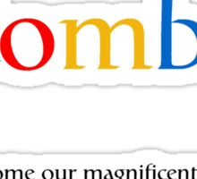 Google Zombie Sticker
