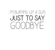 Sun Burning - Doctor Who Photographic Print