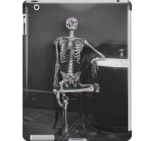 Waiting for the bathroom iPad Case/Skin