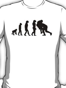 Rugby Tackle Evolution T-Shirt