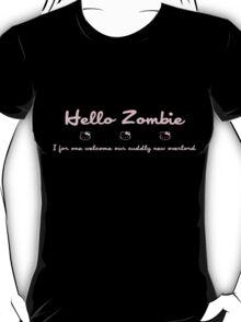 Hello Kitty Zombie - Pink T-Shirt