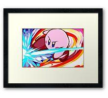 Kirby | Vulcan Kick Framed Print