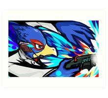 Falco | Blaster Shot Art Print