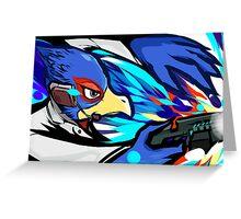 Falco | Blaster Shot Greeting Card