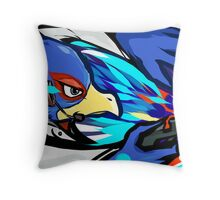 Falco   Blaster Shot Throw Pillow