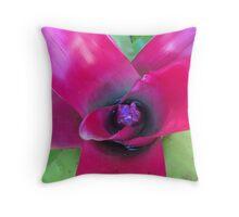 Bromeliad Throw Pillow