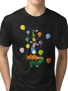 Tortoise Tower Tri-blend T-Shirt