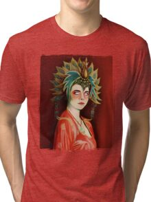 Kim Cattrall in Big Trouble In Little China Tri-blend T-Shirt