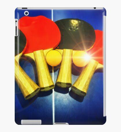 Lens Flare Pingpong Balls Bats Table Tennis Paddles Rackets iPad Case/Skin