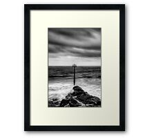 Amroth beach Framed Print
