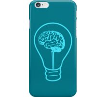 An Idea - Cyan iPhone Case/Skin