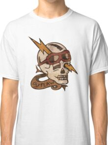 Old Timey Tattoo Design Classic T-Shirt