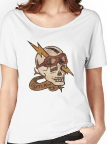 Old Timey Tattoo Design Women's Relaxed Fit T-Shirt