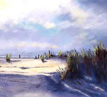 Beach Sunset by LeonD