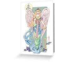 Temperance Tarot Card Greeting Card