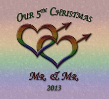 Fifth Christmas - Mr. and Mr. - Gay Pride by LiveLoudGraphic