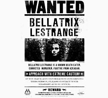 Bellatrix Lestrange WANTED T shirt Womens Fitted T-Shirt