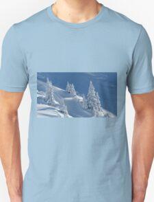 Frozen Winter Scene Unisex T-Shirt