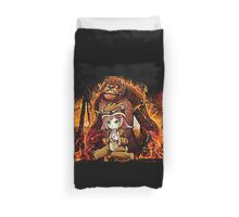 Annie and Tibbers League of Legends Duvet Cover