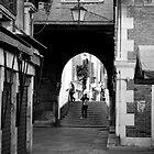 Scenes from a Venetian Street by Rae Tucker