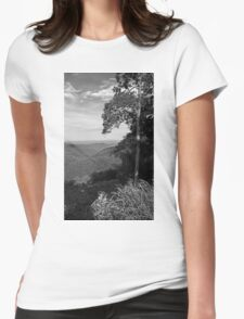 Blue Ridge Mountains - Virginia Womens Fitted T-Shirt