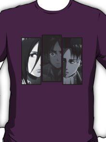 Levi, Eren, Mikasa T-Shirt