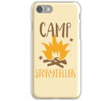 Camp storyteller  iPhone Case/Skin