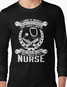 NURSE Long Sleeve T-Shirt