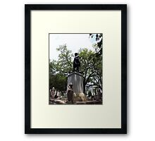 Historical Landmark Aristic Photograph by Shannon Sears Framed Print