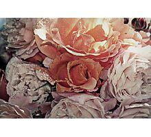 """Bouquet of Apricots & Cream"" Photographic Print"