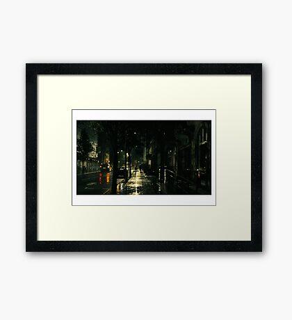 Neo Londinium Framed Print