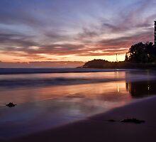 Manly Beach by Chris Brunton