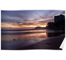 Manly Beach Poster