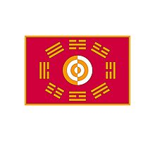 Flag of the King of Joseon Photographic Print