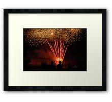Fourth of July Celebration Framed Print