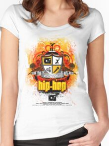 Four Elements of Hip-Hop - Tribute Women's Fitted Scoop T-Shirt