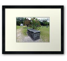 Reminders of What Was Artistic Photograph by Shannon Sears Framed Print
